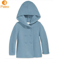 Manufacturer Custom Wholesale cotton material cardigan baby
