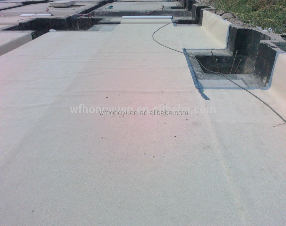 HDPE self adhesive pre-applied waterproof membrane