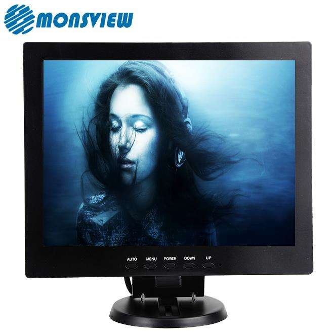 Square Screen Computer display 10 inch lcd monitor for POS industrial car pc