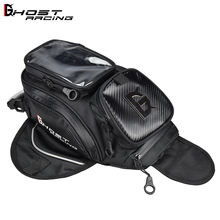 GHOST RACING waterproof motorcycle bag racing tank bag in black