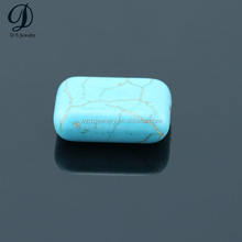 China supplier synthetic turquoise stone blue turquoise beads
