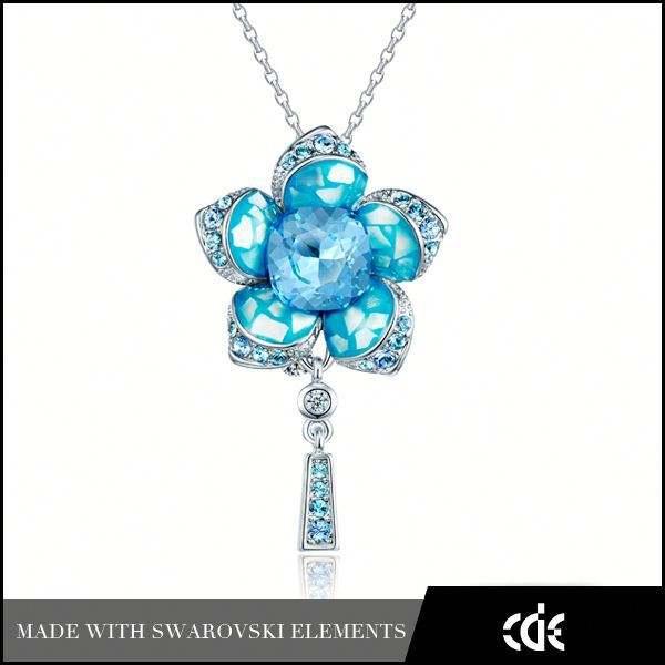 cde <span class=keywords><strong>gros</strong></span> bijoux de mode décoration en cristal pendentif fleur de la vie