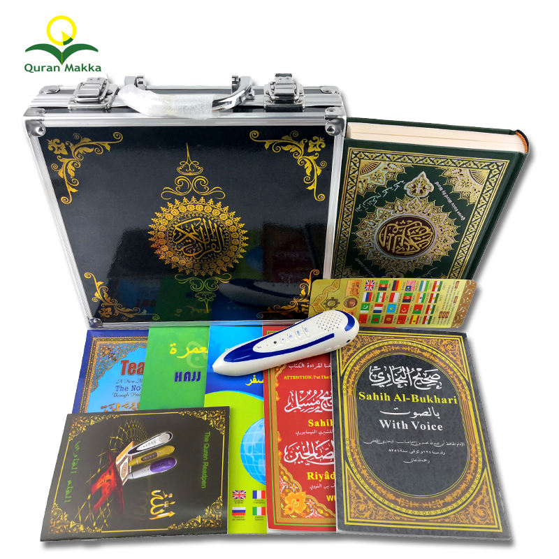 Hot Sale Anak Muslim Mainan Alquran Digital Pen Dukungan <span class=keywords><strong>Mp3</strong></span> dan Reciters Download