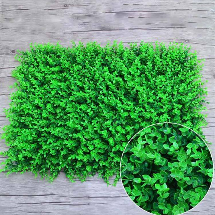 Artificial Plants Wall artificial Boxwood Hedge Grass Mat eucalyptus grass