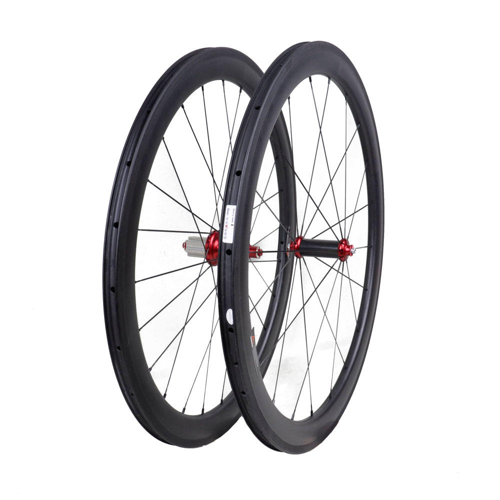 Top kwaliteit R36 hub straight pull carbon wielset 50mm carbon wielen clincher