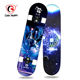 Best Selling China Maple Complete Four LED Light PU Wheels Double Kick Skateboard LED