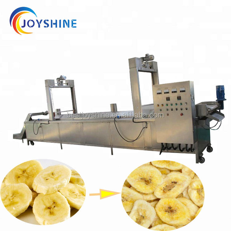 Industrial Potato Chips Fries And Banana Fryer/Onion Frying Machine