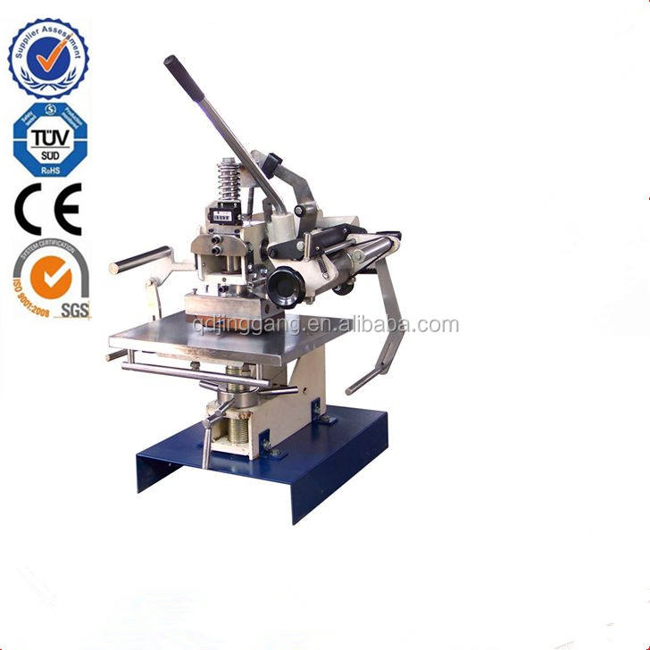 TJ-1 Manual Leather Watch Strap Embossing Hot Stamping Machine