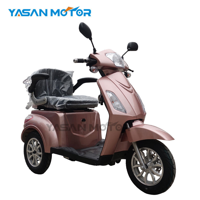 factory price electric 3 wheel mobility scooter EEC/COC Approved with 60V/1000W Motor