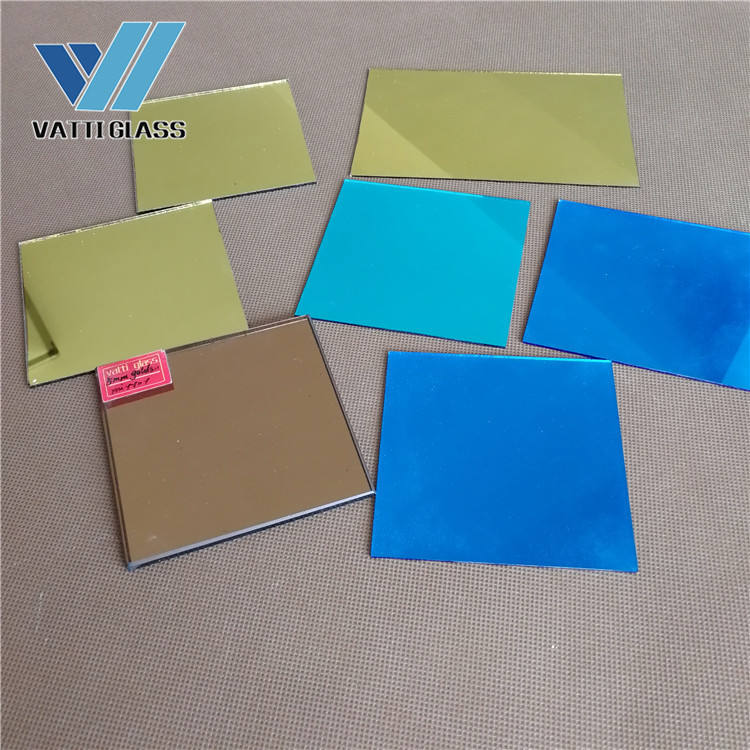 vatti glass factory sell 4 5 6mm colored mirror glass high quality mirror for shower room