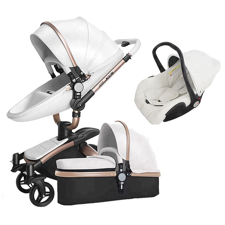 China luxury foldable travel system 3 in 1 baby walker strollers walkers carriers