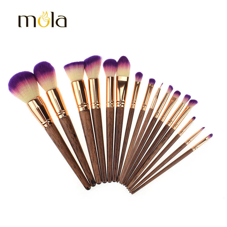 Amazon top seller 2017 beauty products private label make up brush set wholesale