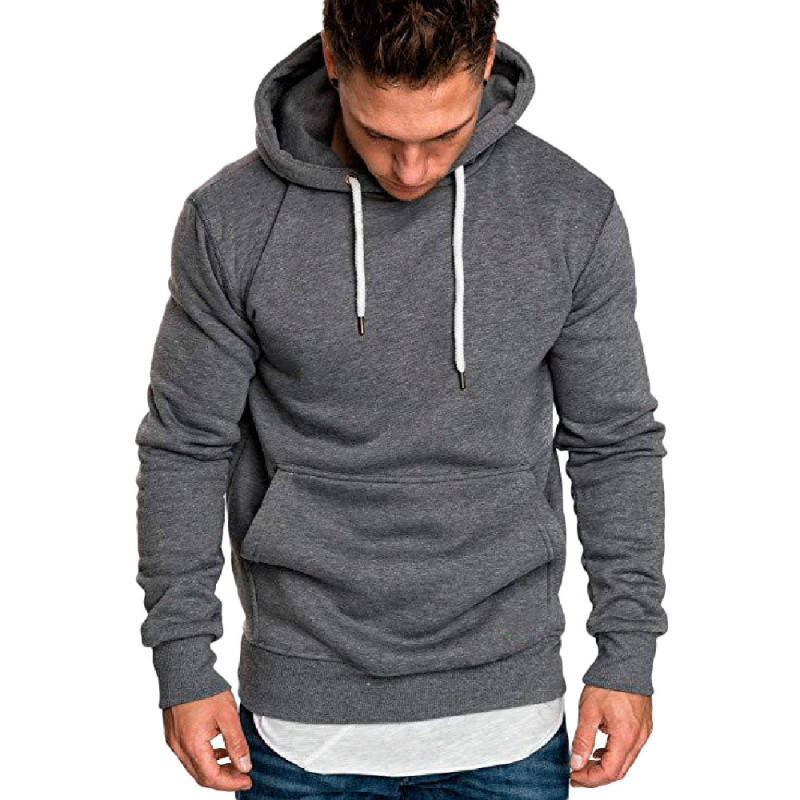 Factory Custom Logo 100% Cotton French Terry Hoodies High Quality Sweatshirts Champion Mens Street Style Hoodies