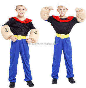 Hot Koop Boy Popeye The Sailor Man Kostuum