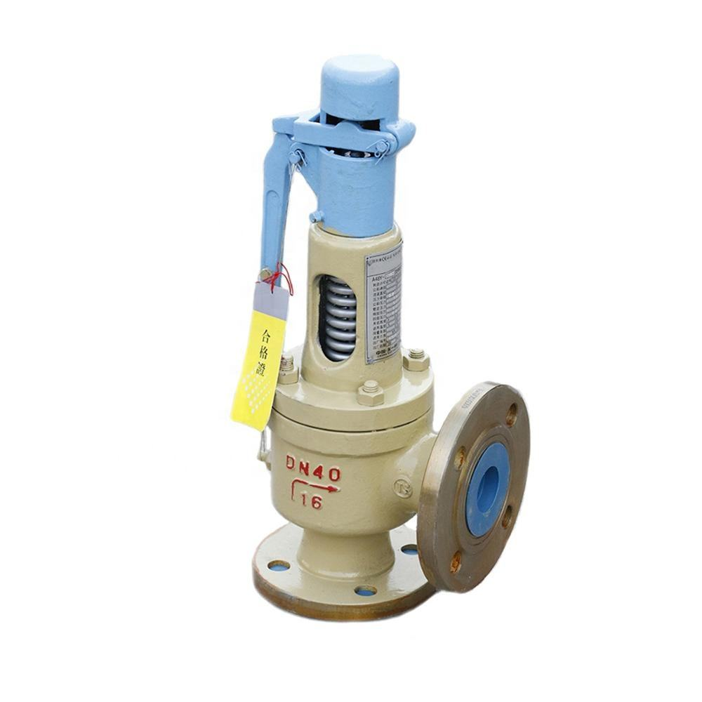 CE/ISO9001 approved pressure relief cryogenic safety valve