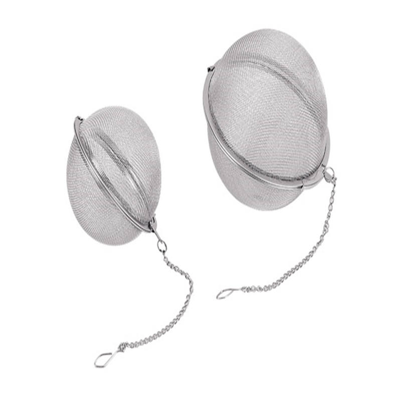 ss/stainless steel filter wire mesh tea ball with chain