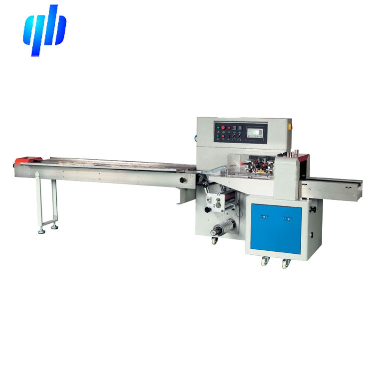 Small business chutty/cachou flow wrapping machine