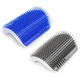 Lovely Cat Massage Device Self Groomer With Catnip Cat Brush Comb