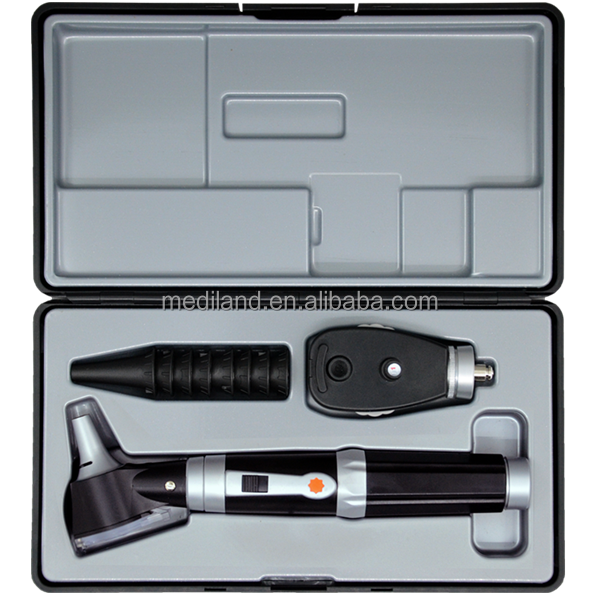 Hot Sale Diagnostic set Ophthalmoscope and otoscope with LED bulb ML-TP301