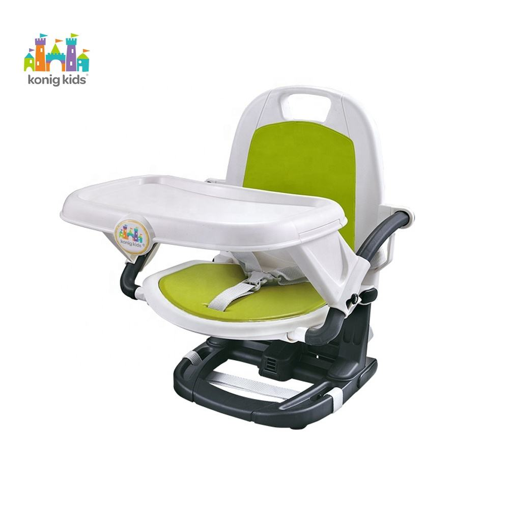 Konig Kids New Baby Products Baby Chair Simple Design Plastic Baby Feeding High Chair