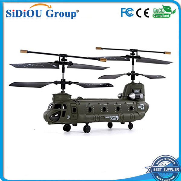 Sidiou Groep S026 G 3-Channel RC Micro Chinook Gyro Helicopter Indoor ontwerp