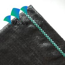 PP Non Woven Agriculture Plastic Agricultural Ground Cover Greenhouse Black PP Woven Weed Mat / PE  Weed Control Fabric Mat