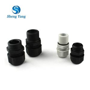 SY Waterproof IP68 PG Type M Size CE Nylon and Plastic Cable Gland M8 M10 M12 M16 M20 M25 M27 M32