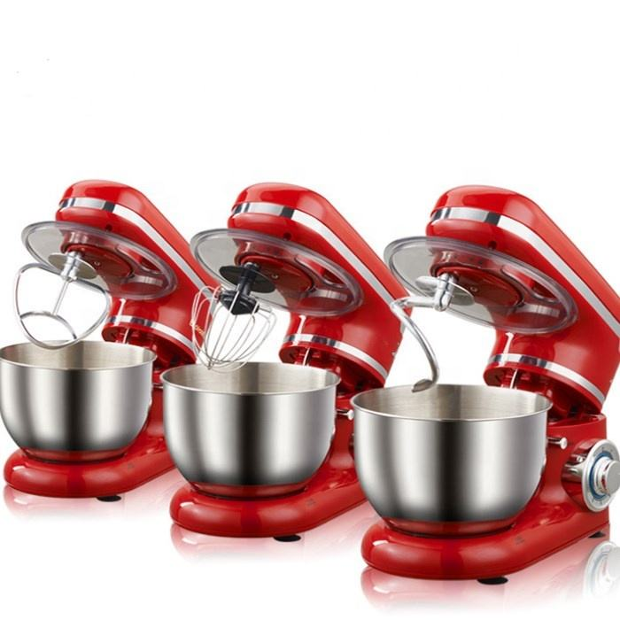 kitchen food aid mix dough electric cake stand mixer