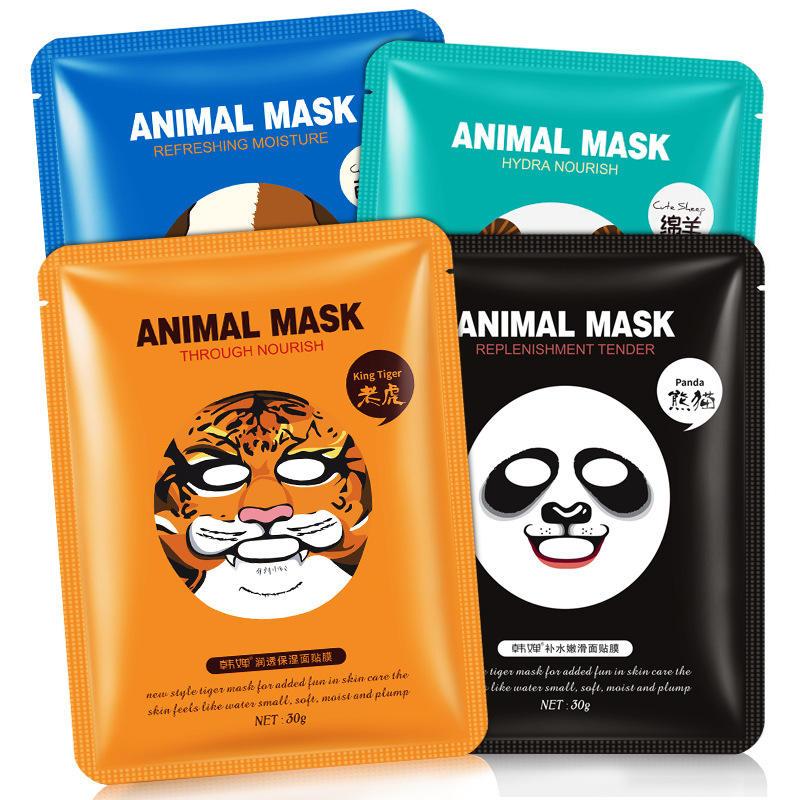 рисунке тканевая маска анимашка компактные или