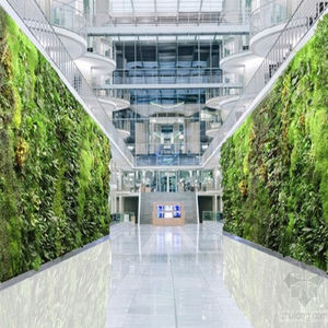 New Design Real Look Cheap Indoor Vertical Artificial Plant Green Grass Wall For Garden Decoration