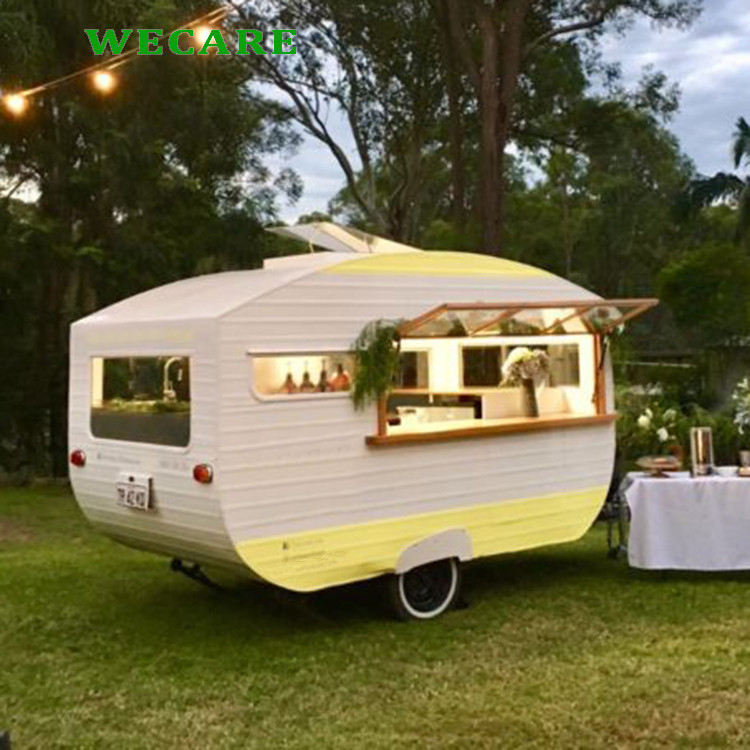 Fashion camper bakery mobile bars fast food trailer for sale europe