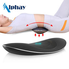 Home use heating vibration medical lumbar traction device for waist massager