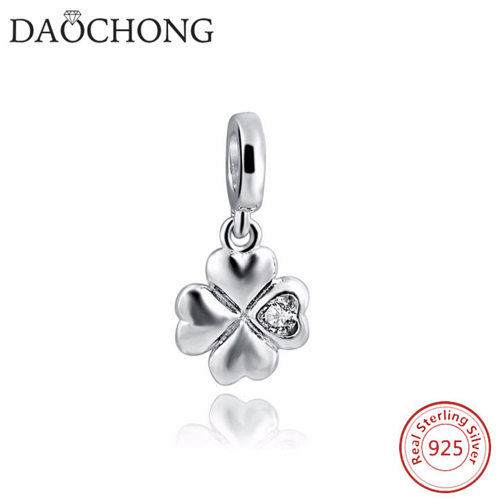 Latest Design Pretty Slider Fashion Lucky Clover Charm