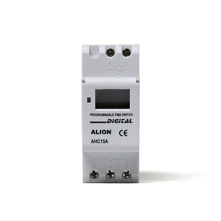 ALION AHC15A 240VAC din rail Daily and weekly programmable Electronic LCD Digital Timer
