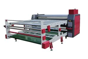 China The Best Stylish Calendar press rotary textile heat transfer fabric sublimation roller printing machinery