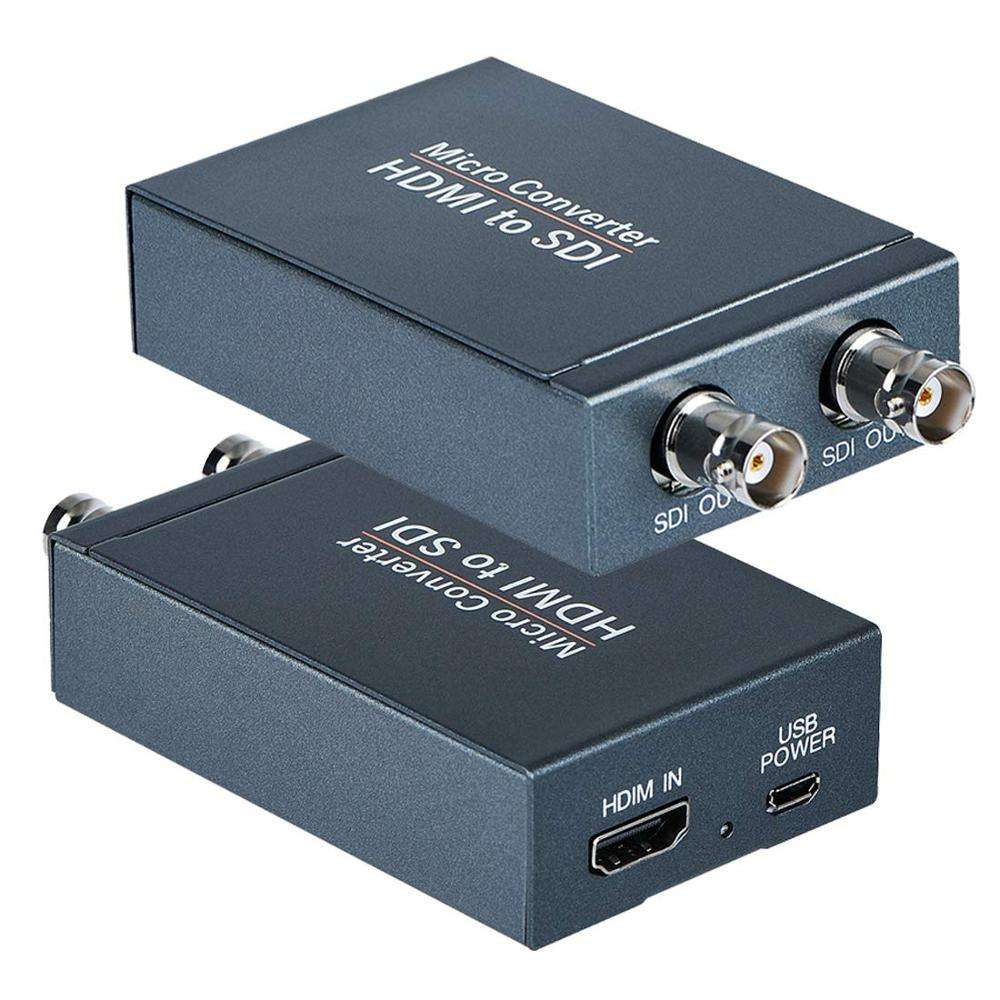 Mikro konverter 1080p HDMI zu 3G HD SDI Audio Video Konverter Adapter für Kamera Heimkino