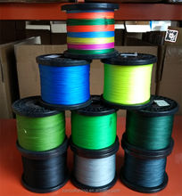 Wholesales price multifilament 4 strand 8 strand PE braided fishing line