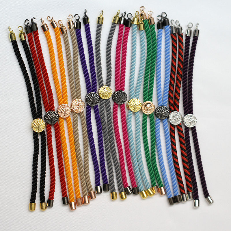 Handmade Fashion Red Rope Line Thread String Bracelets For DIY