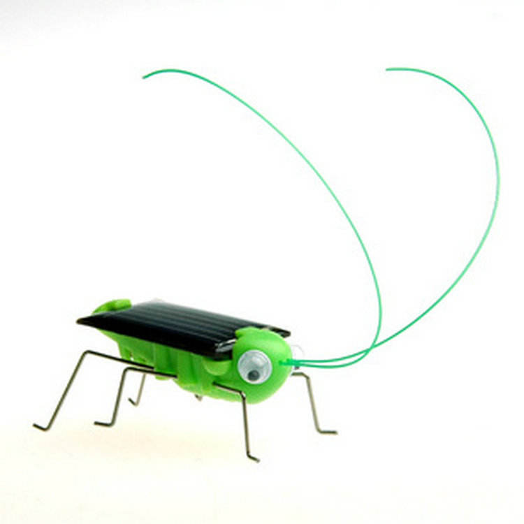 Hot Sale Funny plastic kids toys solar Grasshoppers toys for Kids Gifts
