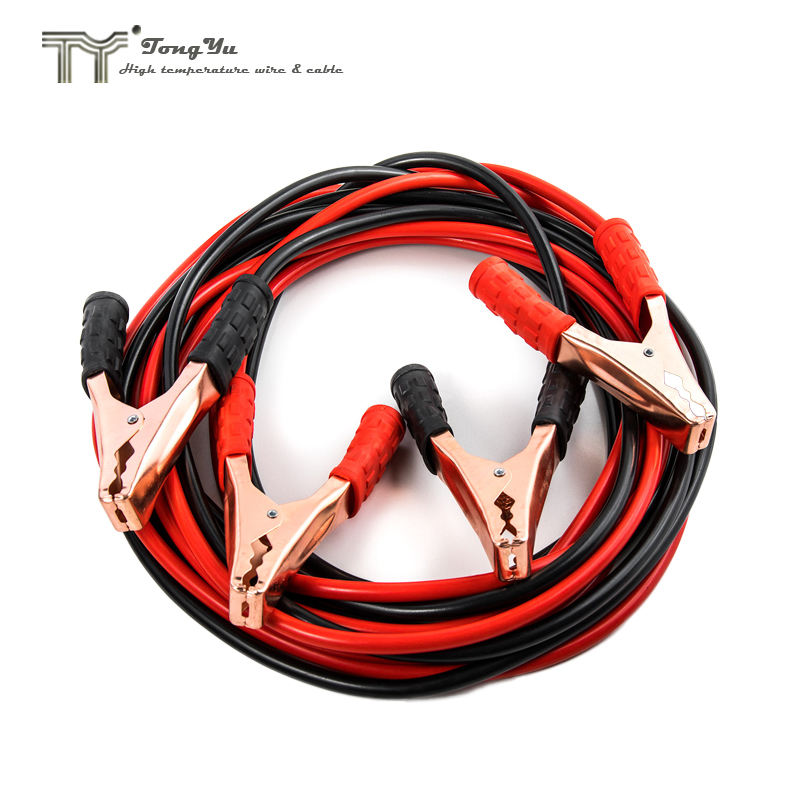 6.6Ft Auto Heavy Duty Power Booster 500A Cable Emgerency Power Jumper Battery