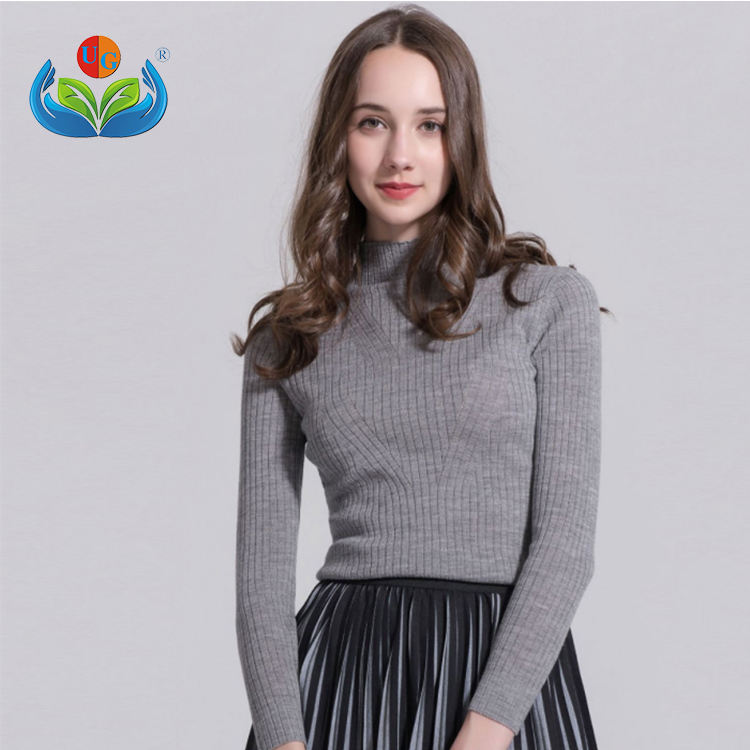 Fashion 100% Wanita Wol Sweater Pullover Sweater