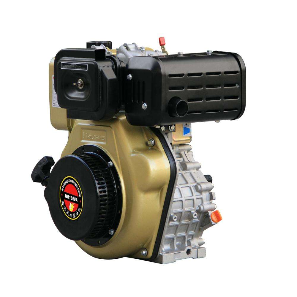 SMALL NEW 10 HP Air-cooled diesel fuel used engine