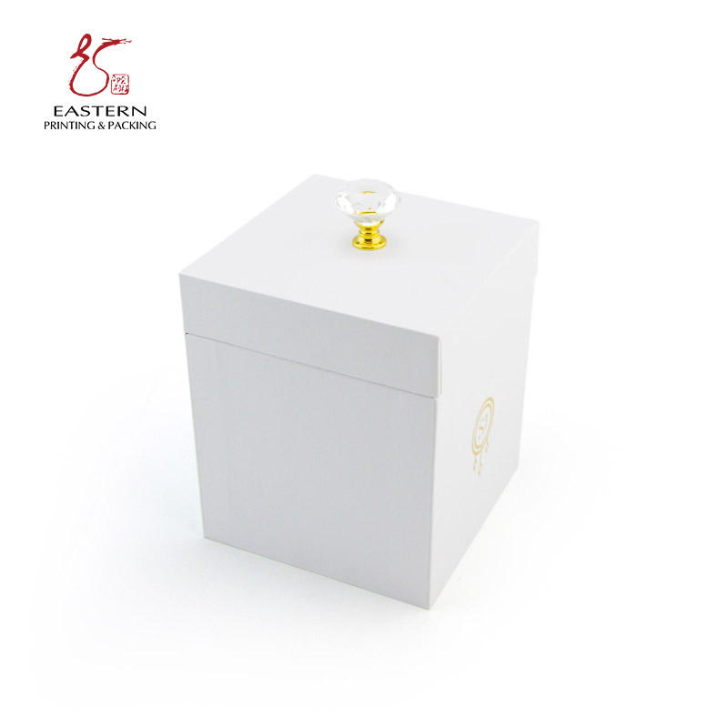 Custom Paper Gift Luxury Candle Packaging Box