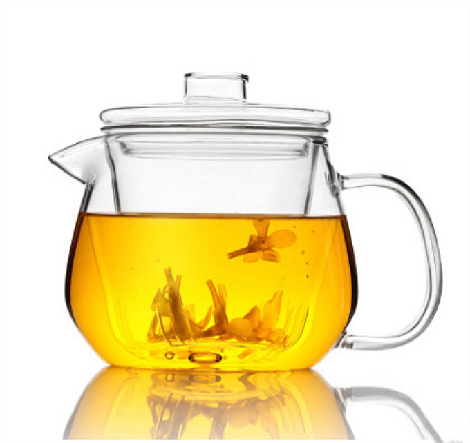 Clear Heat Resistant Glass Tea Pot Coffee Sets