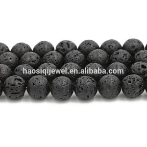 Rock ball lava beads natural wholesale jewelry beads 4mm 6mm 8m 10mm 12mm
