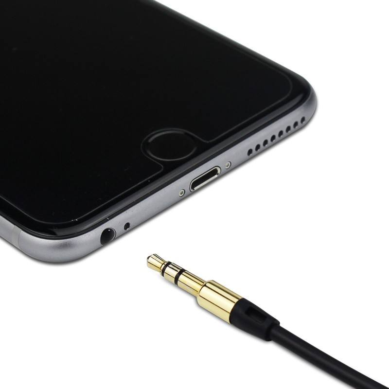 3.5mm Man op Man Audiokabel Platte Jack 3.5mm Aux Kabel voor Auto iPhone Samsung MP3/4 Hoofdtelefoon Mobiele Telefoon Speaker Aux Cord