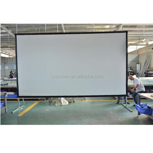 XY Screen Large Outdoor Portable Fast folding frame projection screen
