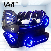 Indoor Amusement 6 Seats VR Cinema 5D 7D 8D 9D Cinema With Adventure Movies for VR Fun