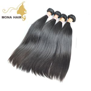 Beautiful virgin hair textures peruvian straight human hair weave
