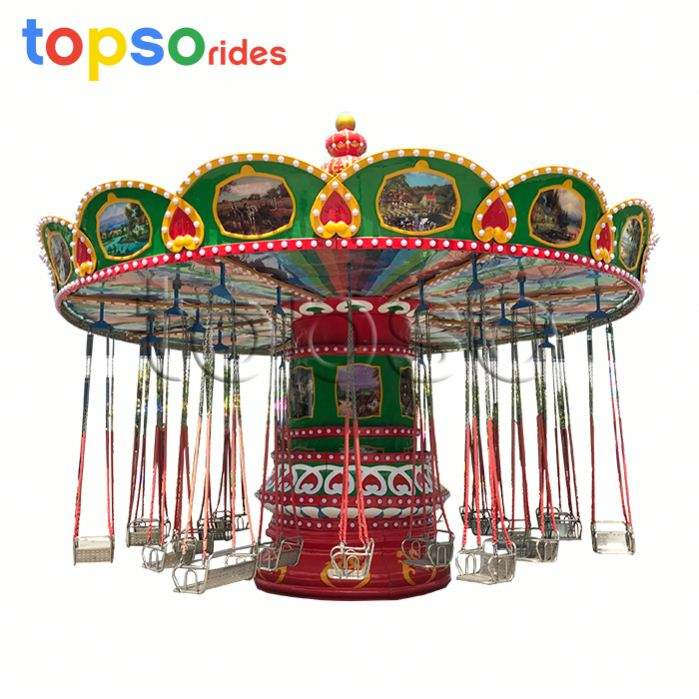 New Design! Outdoor Theme Park attraction Amusement Equipment Rides Flying Chair For Sale